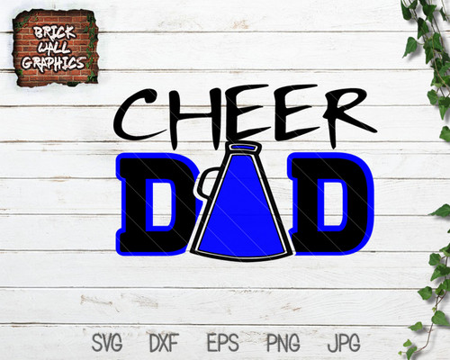 cheer dad svg file