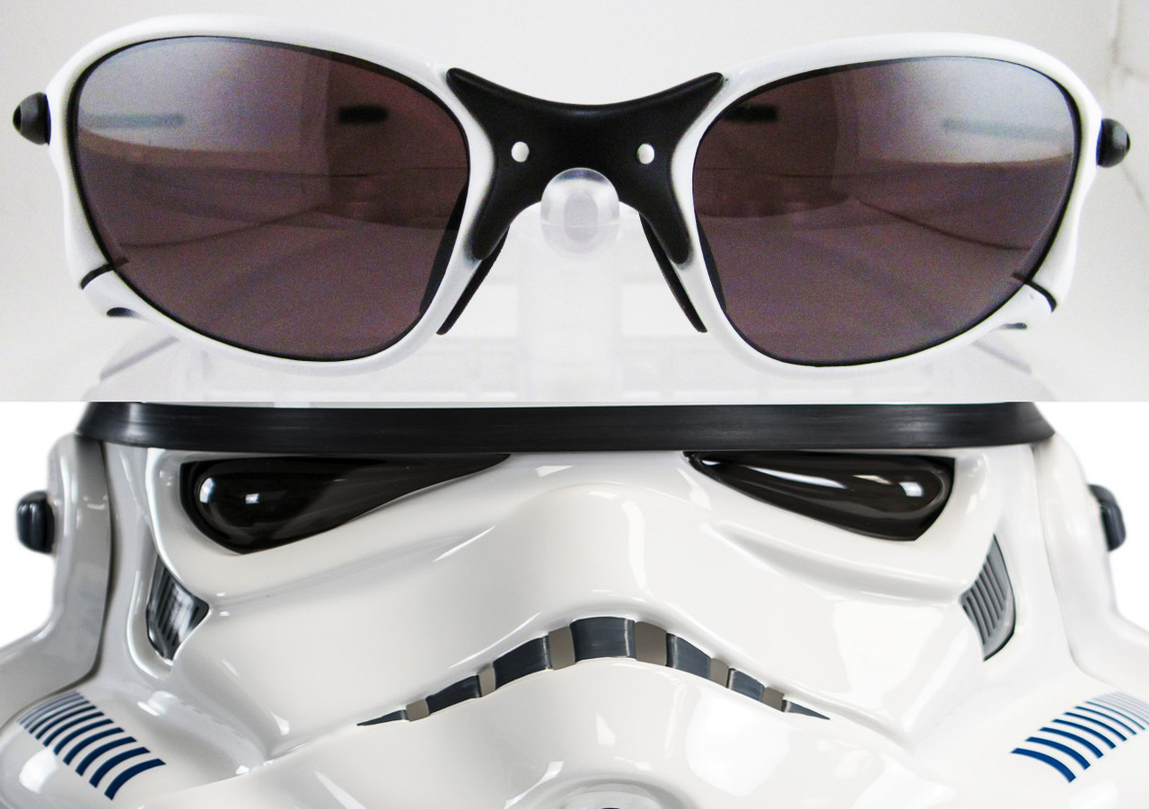 XX X Metal Stormtrooper Parody Custom Cerakote in Bright White & Flat Black