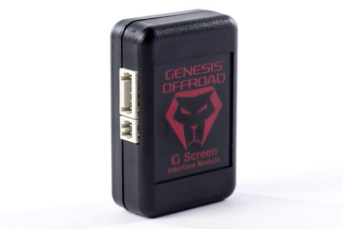 G Screen Dual Battery Monitoring System W/Wire Harness Genesis Offroad