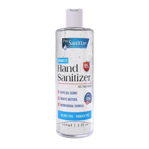 Bulk 2 oz. Hand Sanitizer (Case of 100)