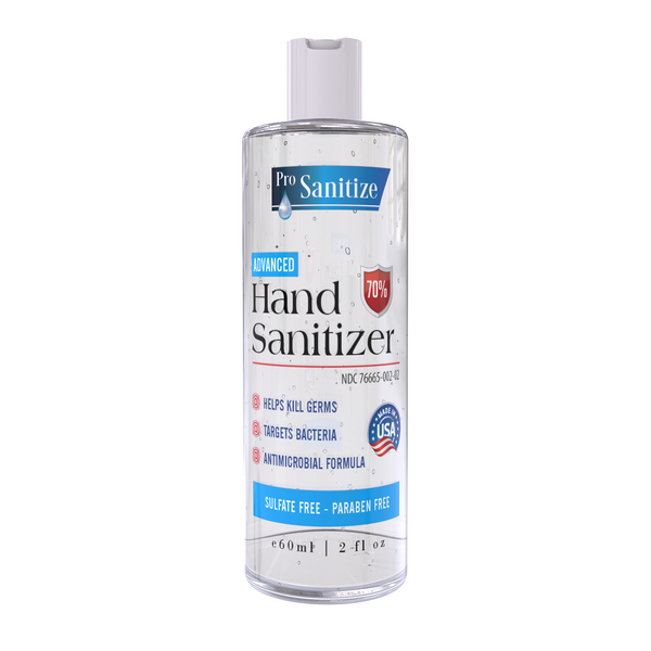Bulk 2 oz. Hand Sanitizer (Case of 100)