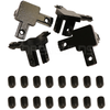 3 Way End Corner Brackets (4 Pack)