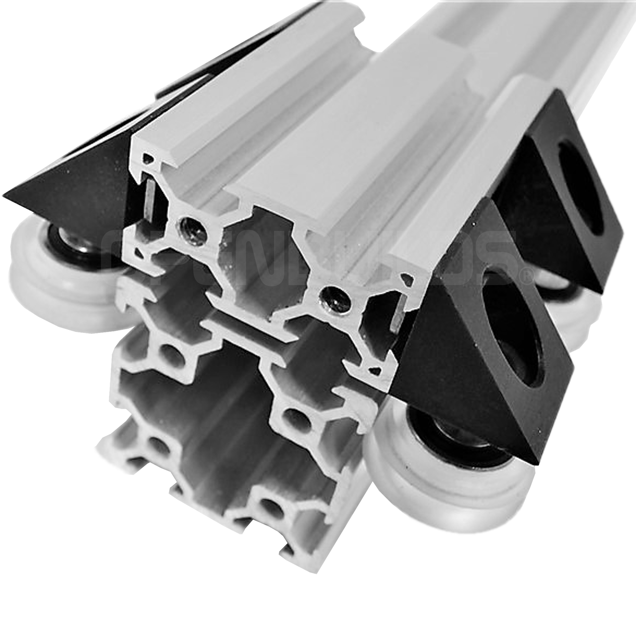 V Slot 40x40 Linear Rail Aluminum Extrusion On Sale Now