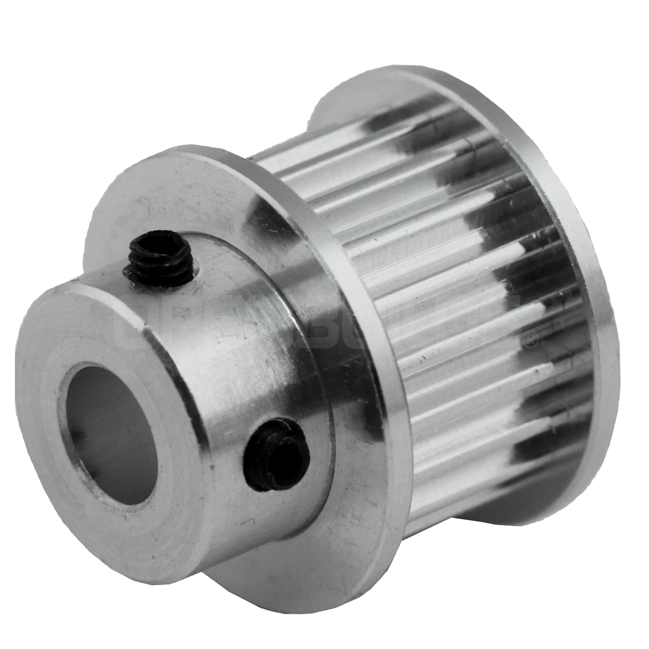 """Timing Pulley .250/"""" Bore 9mm Belt 3GT 20 Tooth GT2-3M"""
