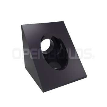 Black Angle Corner Connector