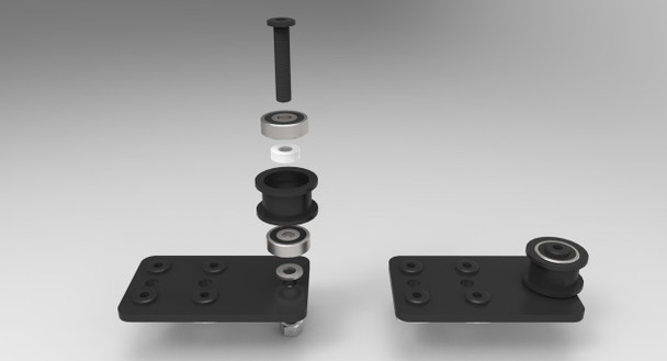 Idler Pulley Plate