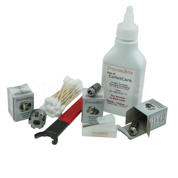 Dewalt 611 Precision-Grade Collet Kit
