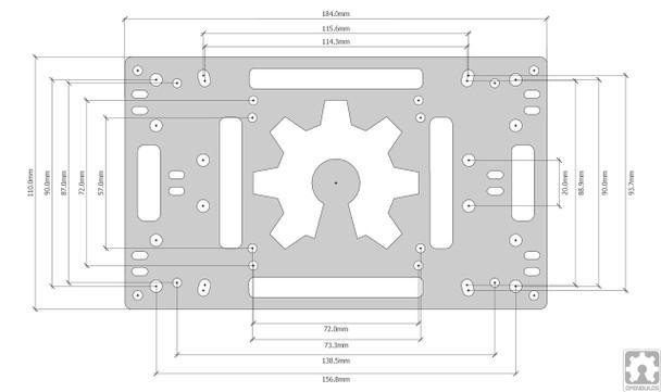 OpenCase Dimensions