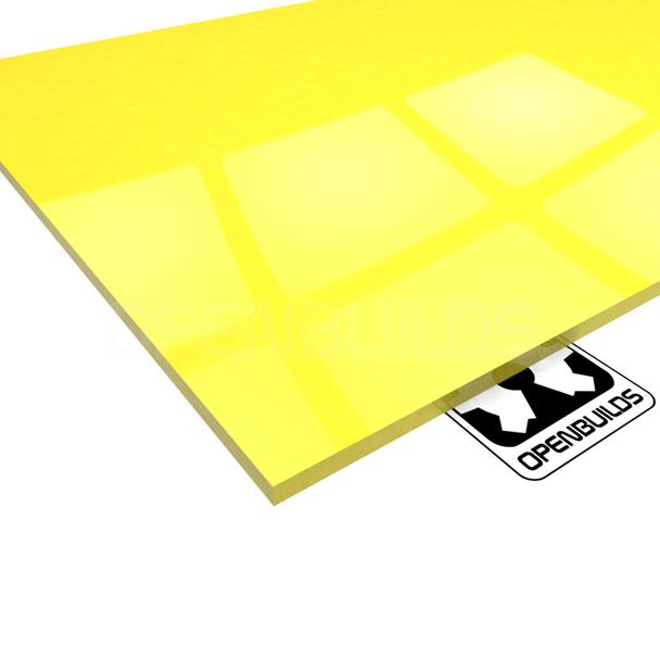 Cast Acrylic - Yellow