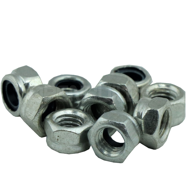 Nylon Insert Hex Locknut - M5 (10 Pack)