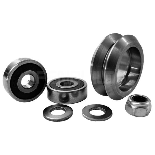 Metal V Wheel Kit