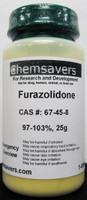 Furazolidone, 97-103%, 25g