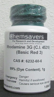 Rhodamine 3G (C.I. 45210) (Basic Red 3), 99% (Dye Content), Certified, 1g