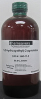 1-(2-Hydroxyethyl)-2-pyrrolidone, 98.9%, 500ml (16oz)