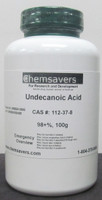 Undecanoic Acid, 98+%, 100g