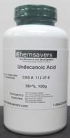 Undecanoic Acid, 98+%, 100g