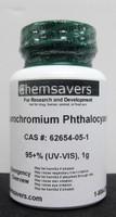 Fluorochromium Phthalocyanine, 95+% (UV-VIS), 1g