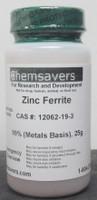 Zinc Ferrite, 99% (Metals Basis), 25g