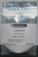 L-Isoleucine, Reagent, 99+%, 25g