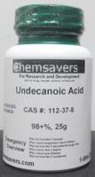 Undecanoic Acid, 98+%, 25g