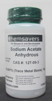 Sodium Acetate Anhydrous, 99.997% (Trace Metals Basis), 10g