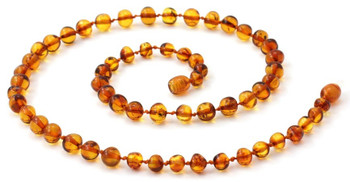 Jewelry, Necklace, Beaded, Polished, Cognac, Adult, Amber, Baltic, Women, Wholesale 2