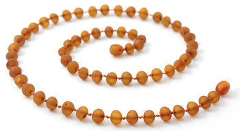 Unpolished, Necklace, Baltic, Amber, Raw, Jewelry, Beaded, Certified, Genuine, Adult 2