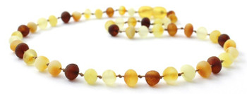Child, Amber, Multicolor, Necklace, Mix, Raw, Baltic, Unpolished, Mix, Jewelry