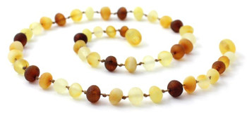 Child, Amber, Multicolor, Necklace, Mix, Raw, Baltic, Unpolished, Mix, Jewelry 2