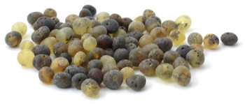 Green, Amber, Unpolished, Beads, Baroque, Supplies, Baltic, Round, Drilled, Raw 2