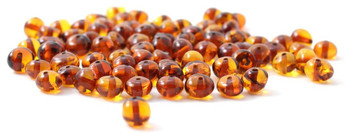 Beads, Cognac, Baltic, Loose, Amber, Polished, Adult, 4 5 6 7 mm, Baroque, Drilled 2