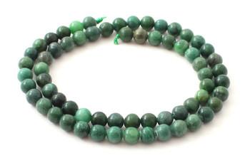 Natural African Jade 6 mm Beads