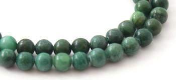 Natural African Jade 6 mm Beads 2