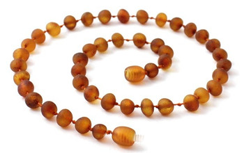 Unpolished, Amber, Wholesale, Cognac, Raw, Necklace, Baltic, Teething, Beaded, Baby 2