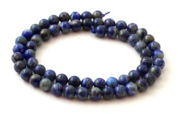 Lapis Lazuli 6 mm Semi Precious Beads