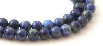 Lapis Lazuli 6 mm Semi Precious Beads 2