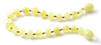 Anklet, Amber, Bracelet, Milky, Butter, Beaded, Teething, Polished, Jewelry 2