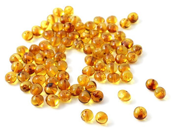 Beads, Supplies, Amber, Honey, Golden, Teething, Baltic, Baroque, Polished