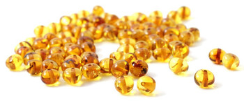 Beads, Supplies, Amber, Honey, Golden, Teething, Baltic, Baroque, Polished 2