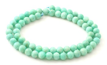 Round Amazonite 6 mm Gemstone Beads