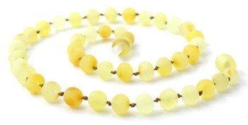 Necklace, Baltic, Teething, Amber, Beaded, Butter, Milky, Natural, Jewelry 2