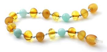 Baltic Amber, Polished, Amazonite, Bracelet, Green, Honey, Anklet, Jewelry, Teething 2