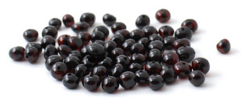 Cherry, Beads, Polished, Amber, Black, Oval, Baroque, Round, Drilled, Baltic, Teething 2