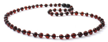 Adult, Cherry, Baroque, Necklace, Beaded, Polished, Amber, Women, Baltic, Jewelry