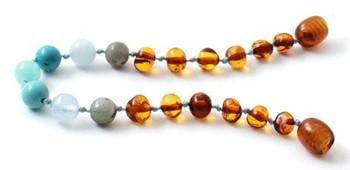 Turquoise, Bracelet, Gemstone, Amber, Anklet, Aquamarine, Cognac, Teething 2