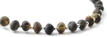 Raw, Amber, Unpolished, Green, Sterling 925, Bracelet, Adult, Silver, Jewelry, Baltic 2