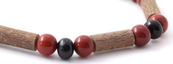 Amber, Red Jasper, Stretch, Jewelry, Bracelet, Hazelwood, Baltic, Natural, Cherry, Polished 2