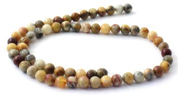 Crazy Agate 6 mm Semi Precious Beads