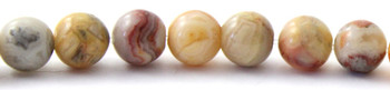 Crazy Agate 6 mm Semi Precious Beads 2