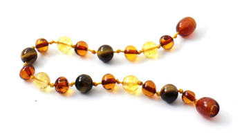 Citrine, Anklet, Gemstone, Bracelet, Polished, Cognac, Amber, Baltic, Teething, Knotted 2